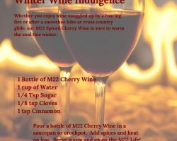 M22 Hot Cherry Spiced Wine